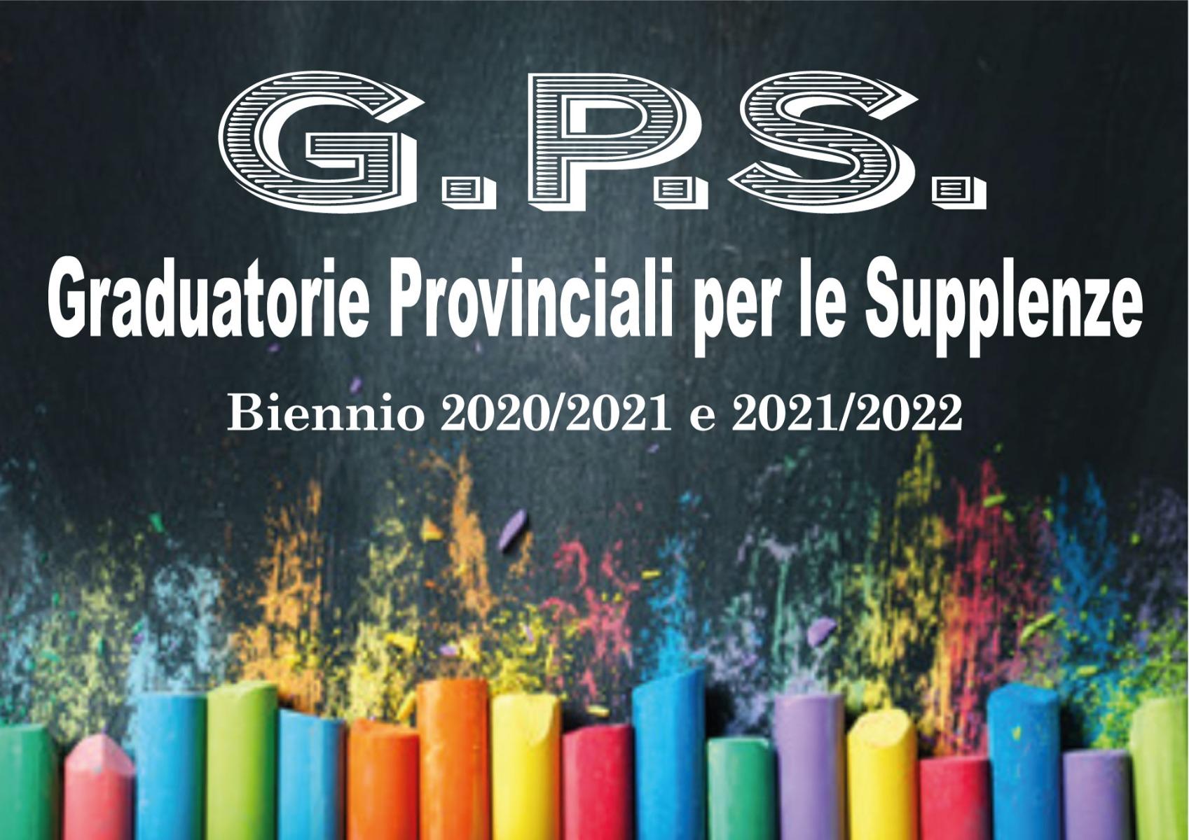 Decreto pubblicazione GPS